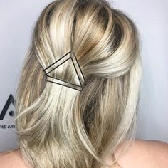 We love our bobby pins for the support they show us every day, so why do we keep them hidden? Instead of begrudgingly (and painfully) hiding them under that bridesmaid updo, try out one of these… Box Braids Hairstyles, Bobby Pin Hairstyles, Short Hair Bridesmaid Hairstyles, Hairstyle Ideas, Wedding Hairstyles, Medium Hair Styles, Curly Hair Styles, Short Hair Braid Styles, How To Style Short Hair