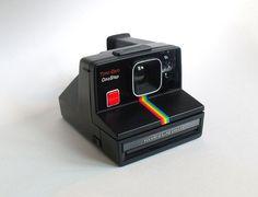 Retro Polaroid TimeZero OneStep SX70 Land Camera by VintageSchwagg, $120.00