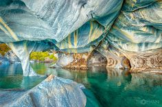 Marble Caves of Lago Carrera, Chile