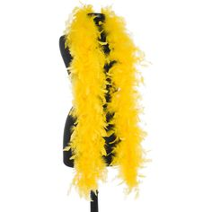 Bright Yellow 40 Gram Chandelle Feather Boas