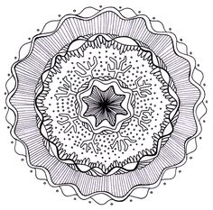 Free printable mandalas! Good place to start self-regulation and stress reduction.