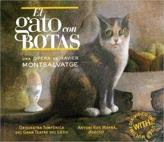 """""""El Gato con Botas"""" - Xavier  Montsalvatge - cover"""