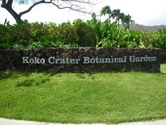Koko Crater Botanical Gardens, Oahu, Hawaii