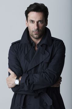 """Don Draper (Jon Hamm) """"I realize how talented our hair and wardrobe people are every time I have to get dressed on my own. John Hamm, Don Draper, Mad Men, Pretty People, Beautiful People, Beautiful Boys, Celebrity Gallery, Celebrity Crush, Sharp Dressed Man"""