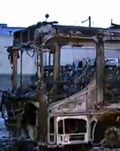 35 ônibus são incendiados em Osasco, na Grande São Paulo (Reprodução)