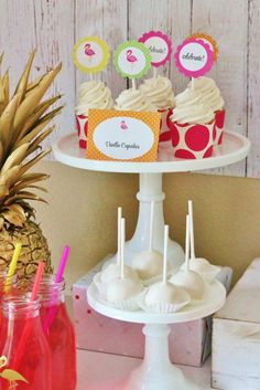 Tropical Flamingo Party for We Heart Parties –