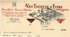 15364 Van Engelen & Evers textielindustrie N.V. Geweven ... 1953