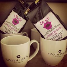 OMG! Coffee by Baltimore Coffee & Tea along with one of our mugs - perfect pair available at our retail shop/kitchen space