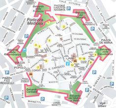 di Salvina Pizzuoli La città murata di Grosseto, vista dall'alto, ha la forma di un esagono irregolare con sei bastioni angolari, uno per ogni angolo dell'esagono, a forma di freccia, p…