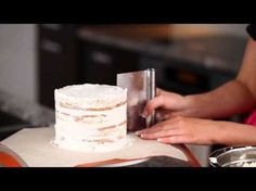 Secrets to a perfect semi naked cake - tips, tricks, hacks - YouTube