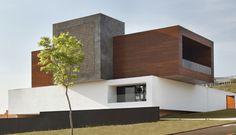 Studio Guilherme Torres designed 'LA House' in Londrina, Brazil