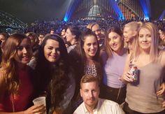 The Chet Faker Crew  #operahouse #sydneyharbourbridge #ChetFaker #allthefuns #mymates #livemusic #saturdaynightfeels #happyplace @gemmfarrell_ @lawwrahh by _rach_anne http://ift.tt/1NRMbNv