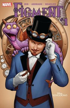 Are you a Figment fan?  Now's he's available in comic book form in the Marvel digital comics shop.  Figment #1