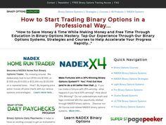 Binary Options AUTHORITY - Learn to Trade Binary Options »