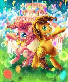 MLP Party Ponies by AquaGalaxy.deviantart.com on @DeviantArt