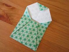 DIY une enveloppe en origami