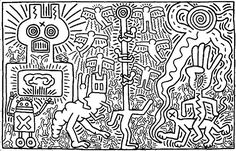 http://www.coloring-life.com/en/color-v3.php?lang=en&theme-id=935&theme=Keith Haring&image=coloriage-adulte-keith-haring-g-8.jpg  ---------------------- Keith haring