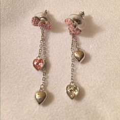 Brand New! Swarovski Hello Kitty Earrings Brand New Authentic Swarovski Hello Kitty Collection Earrings Swarovski Jewelry Earrings