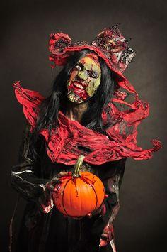 Iwona Łukasik, Halloween, ©WSA  #kostiumy #makijaż #wsa #kolory #charakteryzacja #FX #halloween