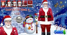 Jom Sims Creations: Santa Claus with CC • Sims 4 Downloads