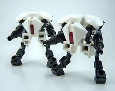 Sprinting Ghosts | Lego Mech