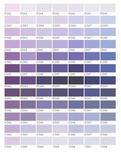 Pantone Chart, Periwinkle, Purple, Color Palette Challenge, Palette Art, Bedroom Paint Colors, Color Pallets, Decoration, Interior Architecture