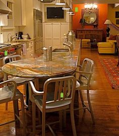 Round End Table Kitchen Design