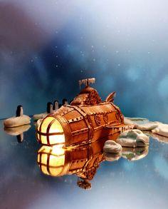 Gingerbread uboat   u-boat ubåtpepparkaka