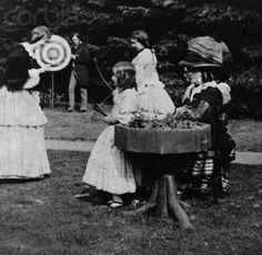 1856 archery! Archery Hunting Vintage Photographs Stock Photos The Victorian 19th Century..