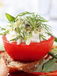 Peynirli domates dolması Tarifi - Parti Yemekleri - Yemek Tarifleri
