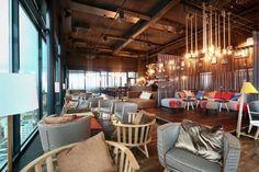 Nice bar at Solo Sokos Hotel Torni Tampere.