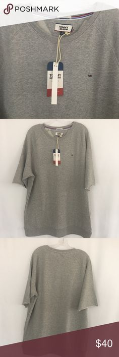 4b93fa210a3296 Tommy jeans short sleeve pullover Tommy jeans short sleeve pullover. Sleeve  hem is factory raw