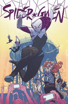SPIDER-GWEN variant cover for HEROES AREN'T HARD TO FIND •Jason Latour