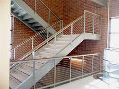 Unique Metal Pan Stairs #1 Steel Pan Stair Details