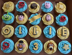 Toy Story cupcakes | Flickr: Intercambio de fotos