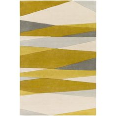 $1109 Hand Tufted Harbor Wool Rug (10' x 14') | Overstock.com Shopping - The Best Deals on 7x9 - 10x14 Rugs