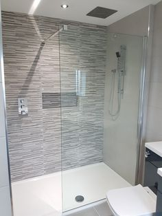 Recessed alcove in shower area. Bathroom by Ultimate Wetrooms & Bathrooms