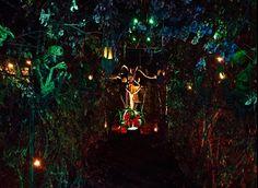 Stick Tunnel- Halloween 2015 - Gourdin Fester