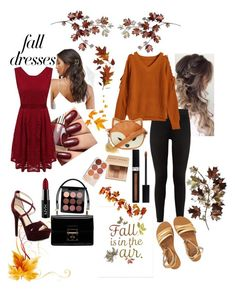 """Fall formal and causal outfit"" by heartoffireforandy ❤ liked on Polyvore featuring Pottery Barn, Dolce&Gabbana, MAC Cosmetics, Pieces, Jessica Simpson, NYX, adidas, Billabong, Christian Dior and Bobbi Brown Cosmetics"