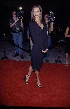 Christy Turlington à une première dans les années 90