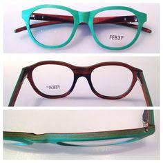 FEB31st Houten brillen - Optiek Van der Linden - Zele - wood wooden eyewear eyeglasses - http://www.optiekvanderlinden.be/feb31st.html