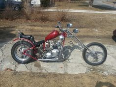 Our 1970 Triumph 650 Tiger Rat Chopper