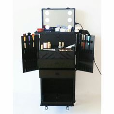 Hair Stations Salon Styling Portable Makeup Station Design