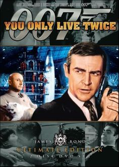 You Only Live Twice - my favorite Sean Connery as James Bond 007 movie in which the Simpsons slips scenes of in the episode with Scorpio. James Bond Theme, James Bond Movies, Sean Connery, League Of Heroes, Capas Dvd, Donald Pleasence, Bond Series, Nancy Sinatra, Epic Movie