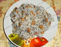 Рис с маком и изюмом