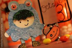 Halloween shaped card | Under A Cherry Tree