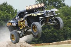 Jesse James' Trophy Truck from porter race cars, proud to say my bf was part of this build :)