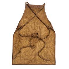 Image of Leather Apron - criss cross strap design