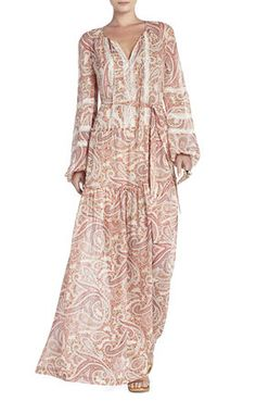Kati Maxi Blouson Dress