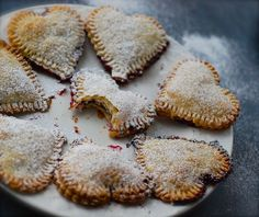 sweetiepies ~ so easy to make using left over pastry dough.